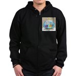 Fishbowl Rebellion Zip Hoodie (dark)