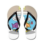 Fishbowl Rebellion Flip Flops