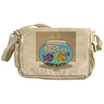 Fishbowl Rebellion Messenger Bag