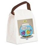 Fishbowl Rebellion Canvas Lunch Bag