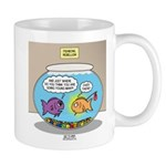 Fishbowl Rebellion 11 oz Ceramic Mug