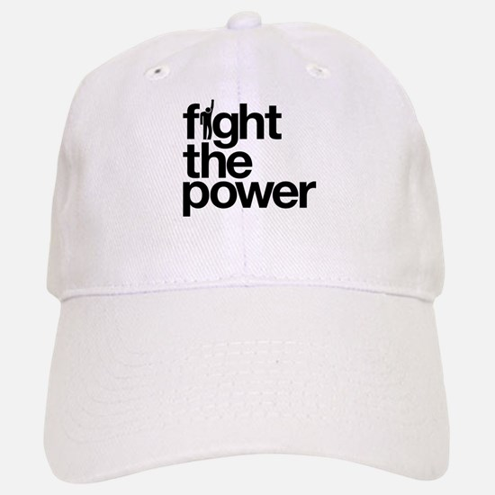 Fight the Power Baseball Baseball Cap