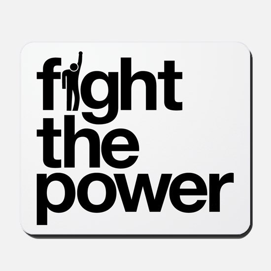 Fight the Power Mousepad