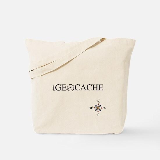 iGEOCACHE Tote Bag