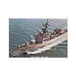 USS GARCIA Rectangle Magnet