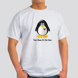 Customizable Penguin Light T-Shirt