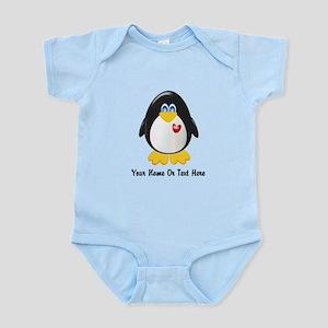 Customizable Penguin Infant Bodysuit