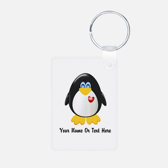 Customizable Penguin Keychains