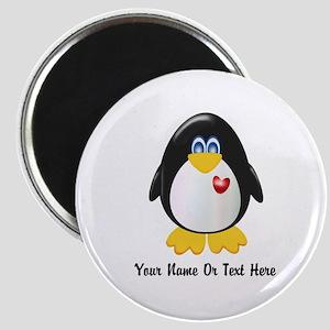 Customizable Penguin Magnet