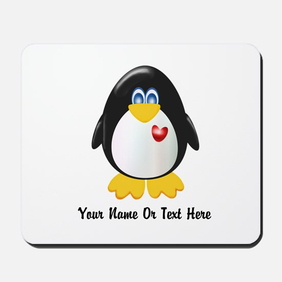 Customizable Penguin Mousepad