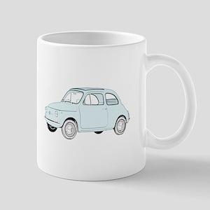 Fiat 500 Topolino Mug