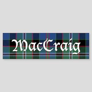 Tartan - MacCraig Sticker (Bumper)