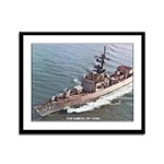 USS GARCIA Framed Panel Print