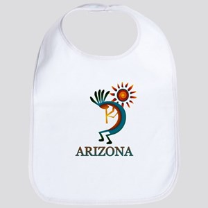 Arizona Kokopelli Baby Bib