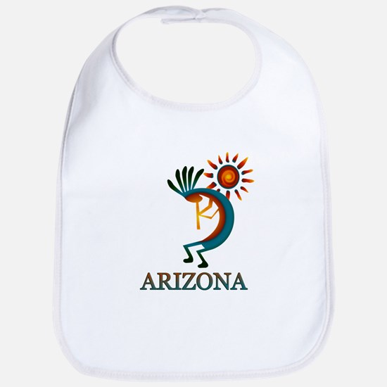 Arizona Kokopelli Baby Bib