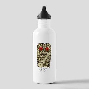 Ukulele Playing Tiki Stainless Water Bottle 1.0L