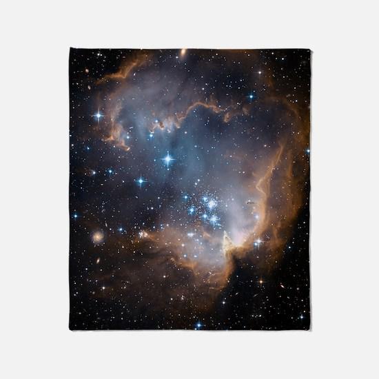 NGC 602 Throw Blanket