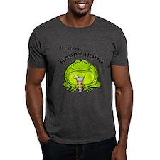 Hoppy Hour Frog Dark T-Shirt