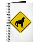 Wolf Crossing Sign Journal