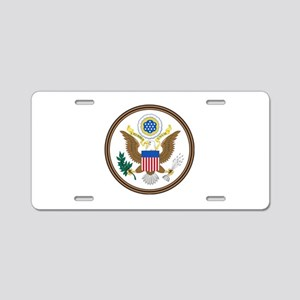 US Great Seal - Obverse Aluminum License Plate