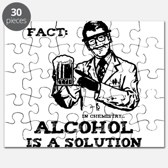 Alcohol is a Solution Puzzle