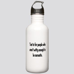 Tact Sarcasm Stainless Water Bottle 1.0L