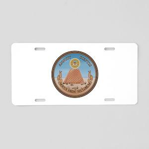 US Great Seal - Reverse Aluminum License Plate