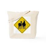 Zebra Crossing Sign Tote Bag