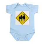 Zebra Crossing Sign Infant Creeper
