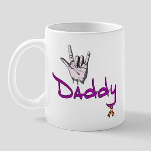 I love U Daddy - Autism Mug