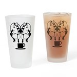 2 girls 1 cup Drinking Glass
