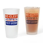 Re-Elect Client No. 9 Drinking Glass