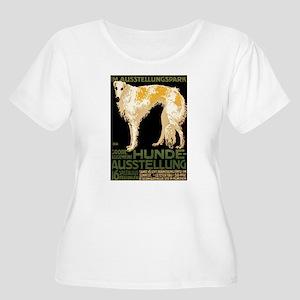Borzoi Women's Plus Size Scoop Neck T-Shirt