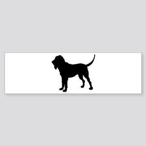 Bloodhound Silhouette Sticker (Bumper)