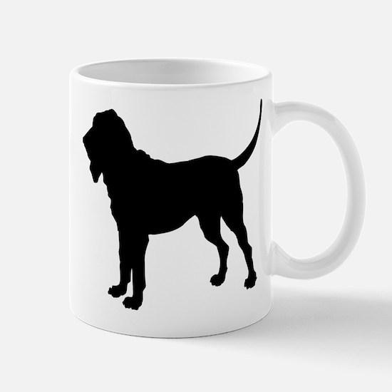 Bloodhound Silhouette Mug