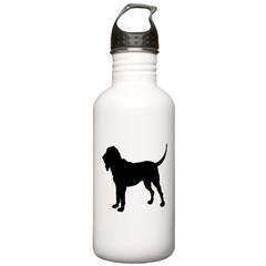 Bloodhound Silhouette Water Bottle