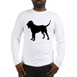 Bloodhound Silhouette Long Sleeve T-Shirt