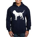 Bloodhound Silhouette Hoodie (dark)