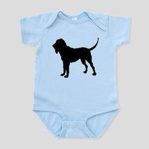 Bloodhound Silhouette Infant Bodysuit