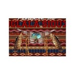 Proud to be Oglala Sioux Rectangle Magnet