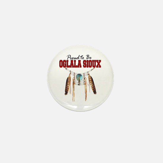 Proud to be Oglala Sioux Mini Button