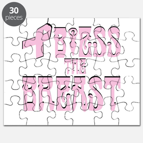 Bless the Breast - Pink Ribbo Puzzle