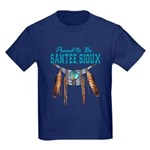 Proud to be Santee Sioux Kids Dark T-Shirt