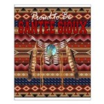 Proud to be Santee Sioux Small Poster
