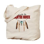 Proud to be Santee Sioux Tote Bag