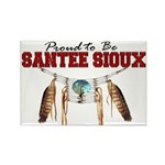 Proud to be Santee Sioux Rectangle Magnet