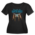 Proud to be Santee Sioux Women's Plus Size Scoop N