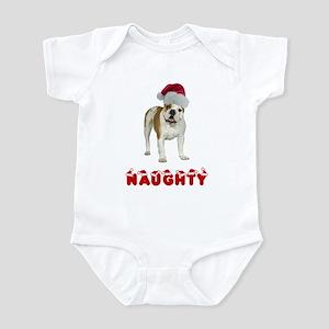 Naughty Bulldog Infant Bodysuit