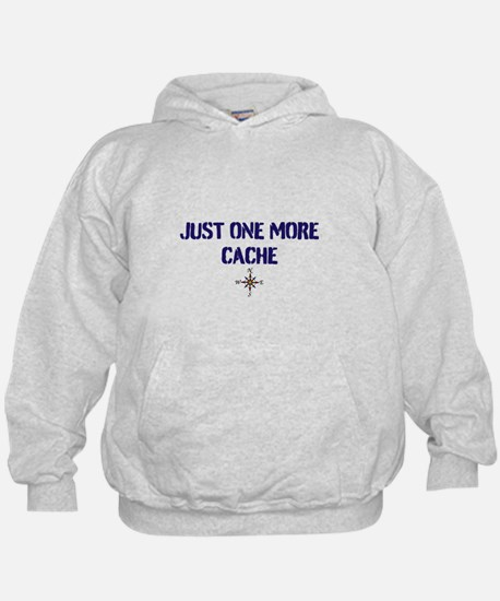 Just One More Cache Hoodie