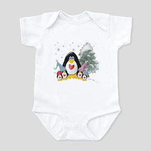 Winter Penguins Infant Bodysuit